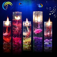 Wholesale 2016 Valentine s day the birthday festival shells aromatherapy sea jelly candle glass candle cup wedding candles