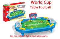 Wholesale Educational toys for children table football air hockey machine sports fun games football table gift