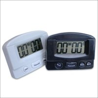 Wholesale Hot selling LCD Home Kitchen Cooking Chef Mini Count Down Countdown Digital Electronic Timer Alarm Black White