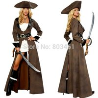 adult pirate halloween costumes - Sexy Lingeries Sexy Adult Costume Halloween Uniform Deluxe Pirate Captain Costume
