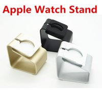 alloy stations - Aluminium Alloy Apple Watch Stand Holder Charging Stand Bracket Docking Station Stock Cradle Holder For Apple Watch mm mm
