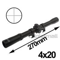 Cheap Rifle Scopes 4x20mm Rifle Crosshair Scope for 22 Caliber Rifles & Air Guns for Military 3pcs Good Quality NO.19 Free Shipping Precise
