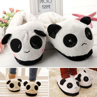 Wholesale New Men Women s Winter Indoor Home Slipper Cute Panda Warm Soft Plush Anti skid Shoes SV014253