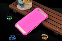 For Apple iPhone TPU Green For iPhone 6 6plus 6+ 5 5s Verus Case Bright Color Soft TPU+PC Shockproof Cases Back Cover Shell Skin with Retail Package DHL Free