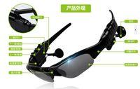 bluetooth headset sunglasses - Sunglasses Bluetooth Headset Sunglass Stereo Monophonic Bluetooth Wireless Sports Headphone Handsfree Earphones mp3 Music Player LJ