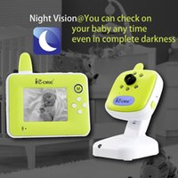 Wholesale iCore quot Digital Video Baby Monitor Phone with Wireless Camera Monitors CE Electronic Angelsounds Baba Eletronica Com Video