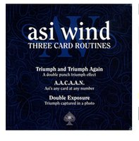 asi video - Three Card Routines Asi Wind HIGHLY RECOMMENDED magic video no gimmicks send by email card magic