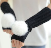 Wholesale New Korean Gir Nice Fall and winter Gloves FOR Big Gir Fashion Lisure Warmth Gloves