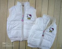Wholesale 2015 for girls boys kids vest top tops fleece cotton Waistcoat Children s Coat age mix order mix colors