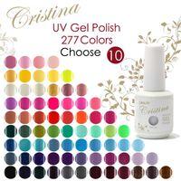 Nail Art 3D Decoration shellac nail polish - Maike MH1371 Choose Cristina Soak Off Shellac Color Changing Temperature Change Color Nail Gel Uv Polish Set For Nail Extension Esmalt