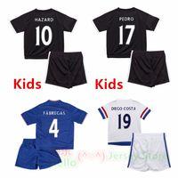kids jerseys - Whosales ChelseaS Soccer Jerseys sets ChelseaS FC Jerseys Football Shirt HAZARD kid OSCAR kits DIEGO COSTA Free Shippinng Thai Quality
