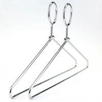 venda por atacado hangers-Anti-roubo do metal Gancho de roupa com gancho de segurança para o Hotel Usado, 5 mm de espessura