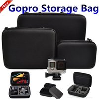 Wholesale Accessories Gopro Bag Small Middle Large Size Travel Storage collection bag Storage Box For For Go pro Hero SJ4000 Action Camera