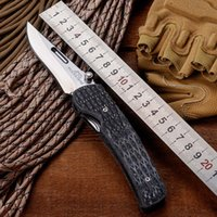 Wholesale Wolf Tatoo ROCKSTEAD Folding Blade Knife With D2 Steel Blade Micarta Handle Camping Hunting Survival Tactical Knife Outdoor Tool