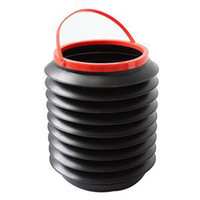 Wholesale Top quality L Car Folding Collapsible Bucket Stylish Trendy Fishing Water Pail Storage Box Container