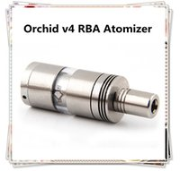 Cheap Orchid V4 Atomizer Best RBA Rebuidable Atomizer Big Capacity Airflow Control vs Kayfun Nano Taifun GT RDA Atomizers(0203282)