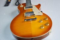 lp guitar - g lp guitar custom standard a supreme electric guitar guitar neck tiger stripes color guitar in China