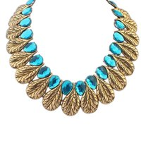autumn leaves jewelry - 2015 early autumn fashion women jewelry retro atmosphere Leaves high end necklace