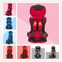 children car booster seat - Promotion Low Price Booster Cover Seat Car Baby Safety Seat Infant Seat Children Safety Car Seats Suitable Baby KG Colors