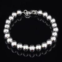 Wholesale 2015 Fashion Jewelry Silver Charms Bracelets For Women men High Quality Item Beads Bracelets Wholesalers Mix Styles