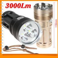 Wholesale SecurityIng Lumen Super Bright x CREE XML T6 LED Flashlight Torch Aluminum Modes lm LED Flash Light