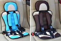 Wholesale Portable Car Seats Updated Version Pink Gray Color Sky Blue Gray Color Thickening Sponge Kids Car Seats Car Child Safety Seats