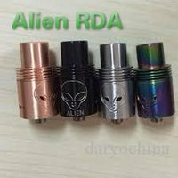 Replaceable 3.5ml Metal Alien RDA Newest 2015 Rebuildable Dripping Atomizer for e Cigarette Large Vapor Top Quality for 18650 Machanical Mod VS YEP V1 Mutation X V4