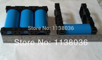 Wholesale 26650 battery cells holders DIY battery packs holders ebike battery holders Cylindrical battery holders holes