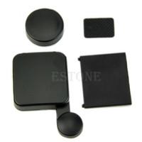 Wholesale Camera Lens Cap Battery Door Replacement Side Door Cover For GoPro HD Hero order lt no track