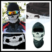 Volto Mask bicycle helmet hat - new bike bicycle motorcycle Ghost biker skull hood face mask ski balaclava CS Sport helmet snood hat scarf cap neck Ghost Scarf