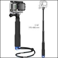 Wholesale Telescoping Extendable Pole Monopod Handheld Monopod cm For XIAOMI yi GoPro Cameras Hero3 hero HD SJ4000