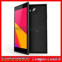Wholesale Leagoo Lead MTK6582 Quad core quot OGS Android Cell Phone Smartphone GB RAM GB ROM MP camera G GPS Android Kitkat