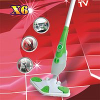 steam mop - Mini Steam Cleaner Household Cleaner Steam Floor Mop W Super Power M Power Cord X6 Mop Fit For Smooth Surface Of All Kinds CE ROHS