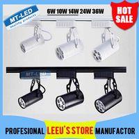 led track lighting - DHL Led Track Light W W W W W Beam angle Warm white Led Ceiling Spotlight AC V led spot lighting CE ROHS CSA UL