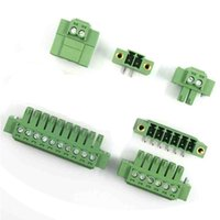 angle plug headers - 3 mm Pitch Pins PCB Screw Terminal Blocks with Flange Plug Right Angle Pin Header units a pack