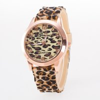 Wholesale GENEVA the source of goods sold in Geneva factory explosion leopard fashion watch watch Ms