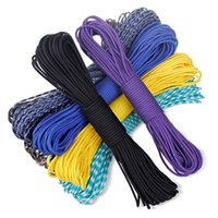 climbing rope - 108 Seven colors Paracord Paracord Parachute Cord Lanyard Rope Mil Spec Type III Strand FT Climbing Camping survival equipment