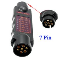 Others car socket plug light - Vehicle Car Diagnostic Tools Pin Trailer Towing Light Cable Circuit Plug Socket Tester Accessories