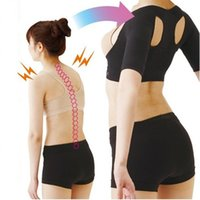 Wholesale Hot women girl back shoulder corrector slimming arm lift chest shapers Women Body shaper corset