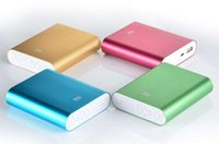 Wholesale MI power banker with Best quality colorful xiao mi mah power bank charger for hua wei xiaomi apple high quality clone