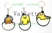 design egg holder - 150PCS New Design Cartoon PVC Egg Yolk brother key Keyrings Key Chains key ring key holder Figure Pendant Accessory