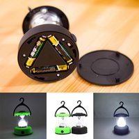 Wholesale Portable Energy saving Camping Fishing LED Bivouac Lamp Hook Lantern Light