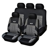 Wholesale AUTOYOUTH Hot Sale Polyester Fabric Universal Car Seat Cover Fit Most Cars with Tire Track Detail Car Styling Car Seat Protector order lt no