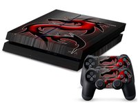 Cheap Red Dragon 0092 DECAL SKIN PROTECTIVE STICKER for SONY PS4 CONSOLE CONTROLL