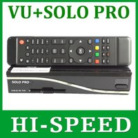 Cheap 1pc Solo Pro Satellite Receiver Linux System Enigma 2 Mini VU+ Solo with CA card sharing Youtube IPTV free shipping post