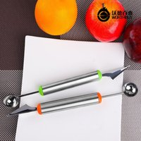 ball assortment - Noble quality stainless steel fruit dig dig ball watermelon ball multifunction spoon carving knife assortment of creative tools