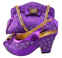 Wholesale shoes matching bags lady s party wedding BCH04 high quality wedges size38 to FASHION Italy design