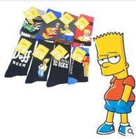 Wholesale New Arrival Simpson Socks Fashion Cotton Sports Men s Socks High Quality MOQ
