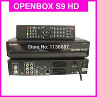Wholesale DHL New Version Original OPENBOX S9 HD PVR Digital Satellite Receiver with HD P Tuner Scart CI cccamd and newcamd