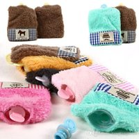 Wholesale Water filling Hot water Bag New Lovely Arrival Hot Water Bottle Cartoon Solid Flannel Hand Warmers ZHT128 A3